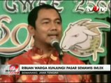 Sambut Tahun Baru Imlek, Pasar Semawis Imlek Ramai Dikunjungi Warga Semarang