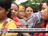Kawasan Berikat Nusantara di Cilincing Masih Banjir