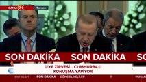 Başkan Erdoğan, Putin ve Ruhani, Tahran'da Suriye zirvesi düzenledi