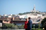 Déclaration d'Emmanuel Macron et d'Angela Merkel à Marseille