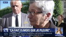 """""""Ça fait 15 mois que je pleure tous les jours"""", la grand-mère d'Arthur Noyer s'exprime aux obsèques de son petit-fils"""