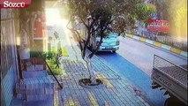 Aydın'da bisikletli kadının öldüğü kazanın görüntüleri ortaya çıkt�