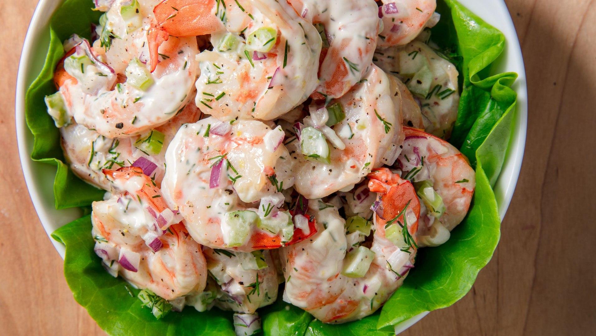 These Shrimp Salad Lettuce Wraps Are Light & Delicious