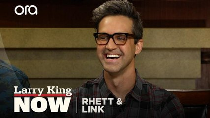 'Good Mythical Morning' hosts Rhett and Link explain why they eat gross stuff