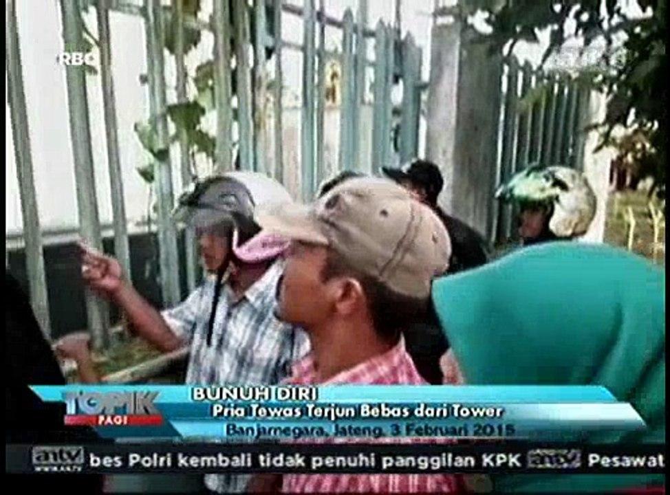 Bunuh Diri Pria Terjun Bebas Dari Tower Video Dailymotion