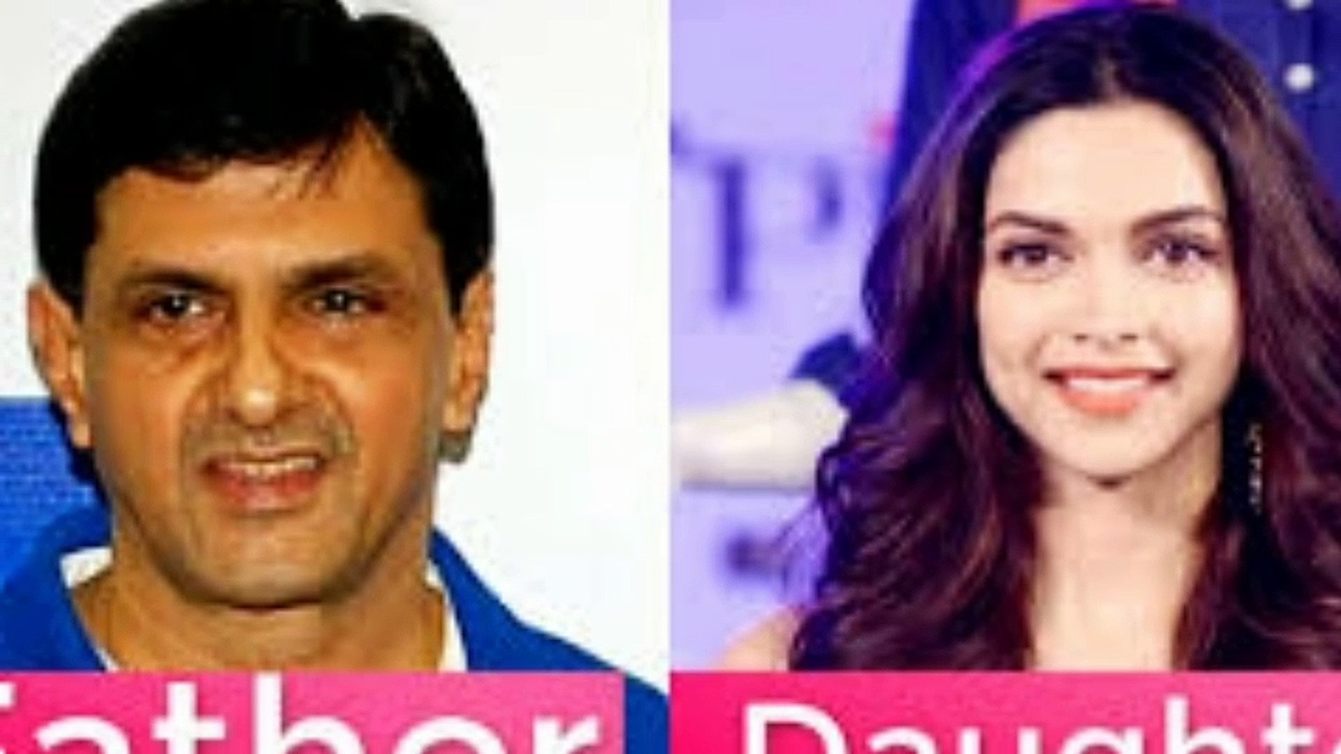 Bollywood actress & actor with his father