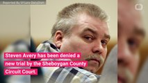 Steven Avery Denied New Trial