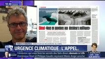"""""""Le climat doit rentrer dans les politiques publiques, il n'y a pas d'autres solutions"""", estime Fabio d'Andra, du CNRS"""