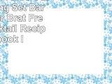 Premium 14 Piece Cocktail Making Set  Bar Kit by Bar Brat Free 130 Cocktail Recipes