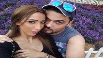 أول تعليق من دنيا بطمة على مرض زوجها محمد الترك بالسـرطـان - تحير الجميع !!
