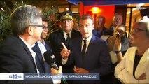 Marseille : rencontre surprise entre Emmanuel Macron et Jean-Luc Mélenchon