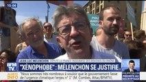 """""""Je ne vais pas m'engueuler dans un bar avec le président de la République"""", Mélenchon revient sur sa rencontre avec Macron"""