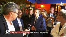 Emmanuel Macron, Jean-Luc Mélenchon : la rencontre marseillaise
