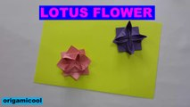 LOTUS FLOWER ORIGAMICOOL | ORIGAMI LOTUS FLOWER | ORIGAMICOOL | EASY TUTORIALS | HOW TO MAKE PAPER LOTUS FLOWER | LOTUS FLOWER ORIGAMI | TUTORIAL FACIL | COMO HACER UNA FLOR NENUFAR