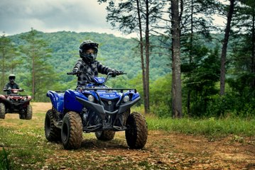 All-New 2019 Yamaha Grizzly 90 Kid's ATV