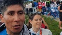 """Tour d'Espagne 2018 - Nairo Quintana : """"Tu dois prendre des risques, parfois ça marche, comme hier, et parfois c'est un coup d'épée dans l'eau"""""""