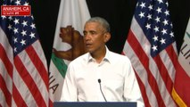 Obama campaigns for Democratic candidates in Calif.