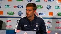 Équipe de France, la conférence de presse d'Antoine Griezmann et Didier Deschamps en replay