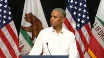 Barack Obama rallies Democratic candidates in California