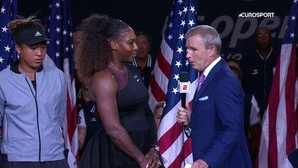 US Open - L appel au calme de Serena