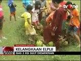Demo Elpiji Langka, Sejumlah Ibu Lempar Tabung Gas
