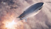 Elon Musk Changes 'BFR' Mars Rocket's Name to 'Starship'