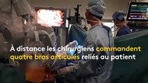 """Des """"robots chrirugiens"""" pour opérer à distance à l'hôpital Georges Pompidou de Paris"""