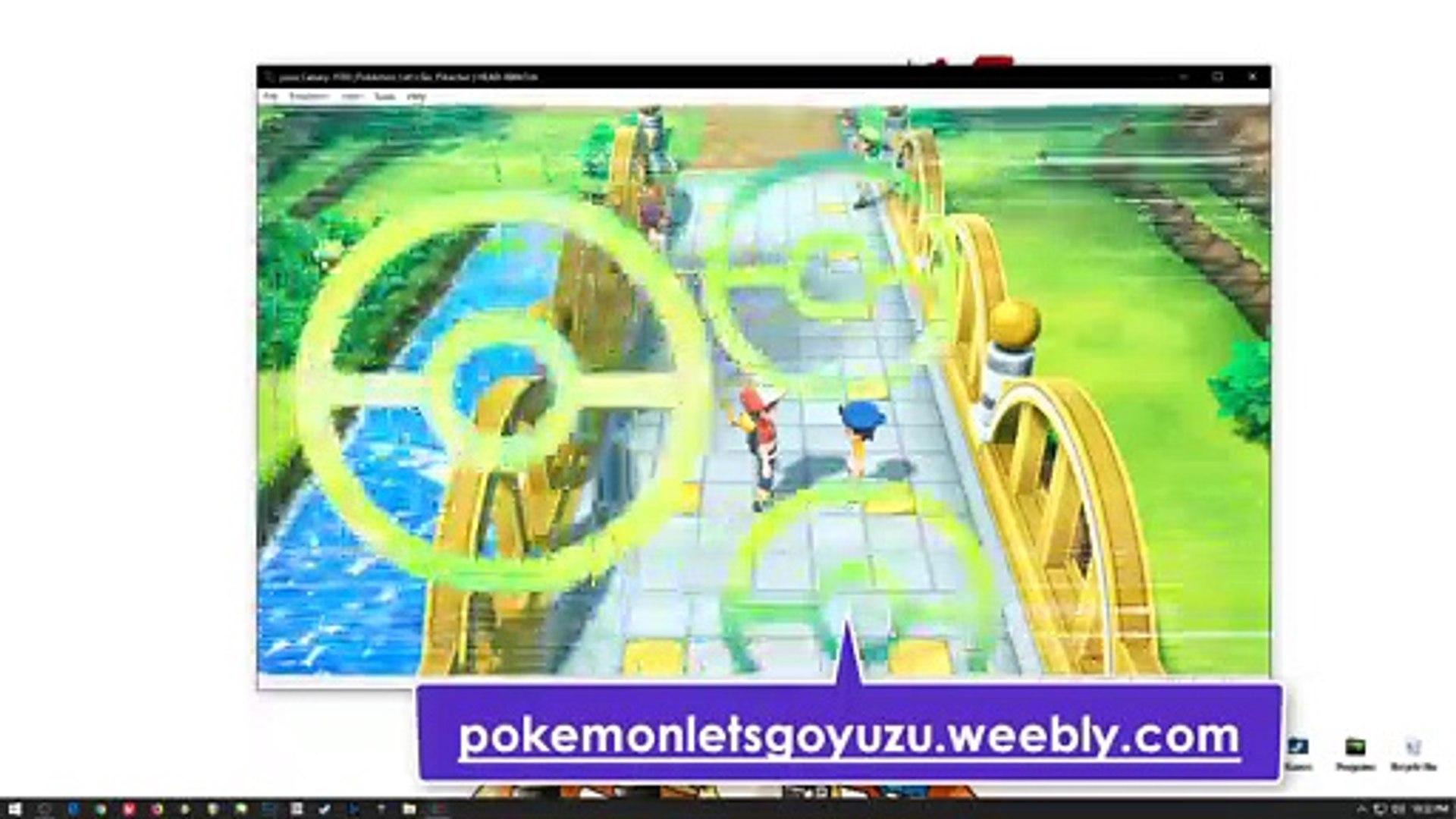 YUZU EMULATOR DESCARGAR Pokémon Let's Go Pikachu PC