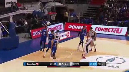 7Days EuroCup Highlights Regular Season, Round 8: Zenit 99-102 Trento