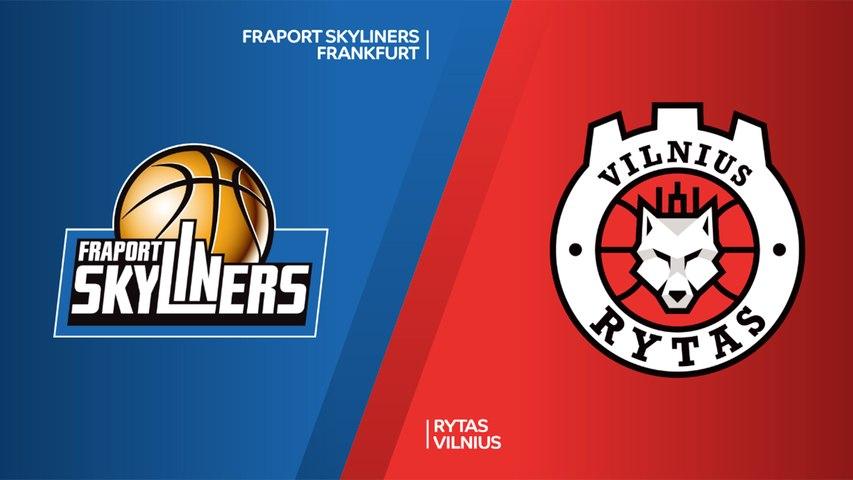 Fraport Skyliners Frankfurt - Rytas Vilnius Highlights | 7DAYS EuroCup, RS Round 8