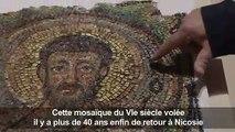 Chypre réceptionne une mosaïque volée depuis 40 ans