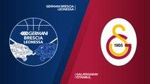 Germani Brescia Leonessa - Galatasaray Istanbul Highlights   7DAYS EuroCup, RS Round 8