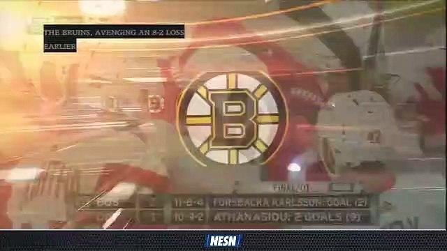 Tuukka Rask Reacts To Bruins' 3-2 Overtime Loss Vs. Red Wings