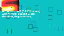 PDF Download) Regularization Optimization Kernels and Support Vector
