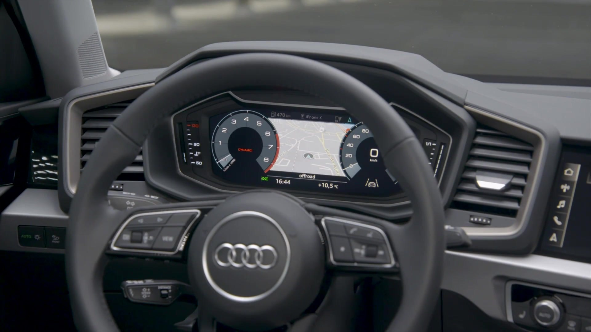 2018 Audi A1 Interior Design In Chronos Grey
