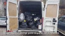 Ora News - Në Qafë Thanë u kapën 570 kg drogë, furgoni në pronësi të një biznesi në Fier