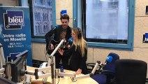 """Gloria et Chris Sorelli chantent """"Prendre un enfant par la main"""" sur France Bleu Lorraine"""