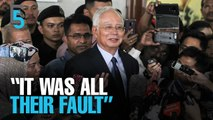 EVENING 5: Najib puts blame on Goldman Sachs
