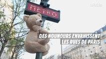 Des nounours envahissent les rues de Paris