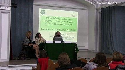 Expérimentation du secteur 78G17 - Versailles : suivis sociaux sanitaires PASSVERS - Dr Nadine Bazin