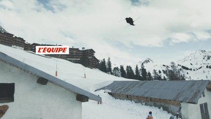 Dans Oh my Ghost, Kevin Rolland est insaisissable à La Plagne - Adrénaline - Ski freestyle