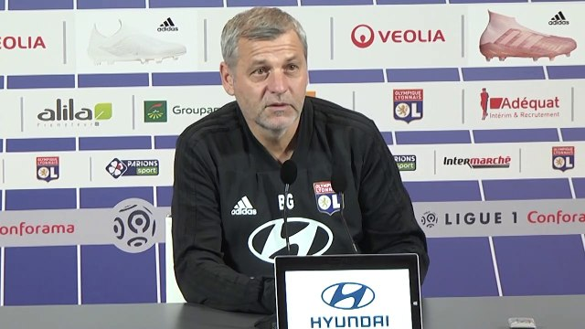 OL : Bruno Genesio regrette l'absence des supporters de l'ASSE