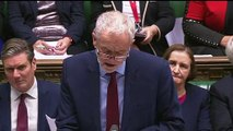 Jeremy Corbyn calls draft agreement 'leap in the dark'