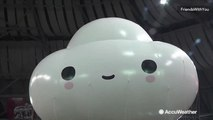 Little Cloud's big debut in the Macy's Thanksgiving Day Parade