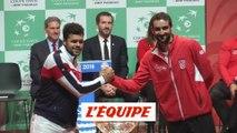 Les images du tirage au sort - Tennis - Coupe Davis