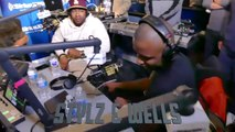 """Styliztik Jones & J Wells """"Stylz & Wells"""" Freestyle @ Shade 45 """"The Wake Up Show"""" with Sway & King Tech, 04-19-2018 Pt.1"""