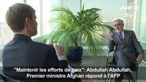 Entretien avec le chef du gouvernement afghan
