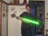 TEST FX - Tracking Sabre laser