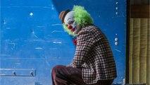 Chase Scene Of Joaquin Phoenix As The Joker