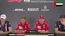 F1 2018 Abu Dhabi GP - Thursday (Drivers) Press Conference - Part 2/2